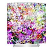 Floral Art Clvi Shower Curtain
