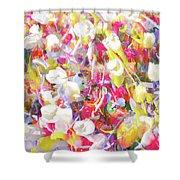 Floral Art Clvii Shower Curtain