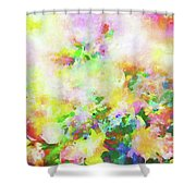 Floral Art Clxiv Shower Curtain