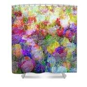 Floral Art Cxi Shower Curtain