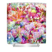 Floral Art Cxiii Shower Curtain