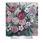 Floral Boom Shower Curtain