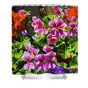 Floral Design 5 Dark Shower Curtain