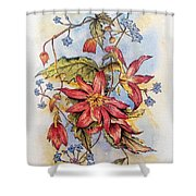Floral Display 1 Shower Curtain