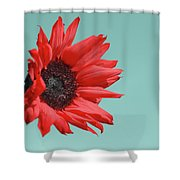 Floral Energy Shower Curtain by Aimelle