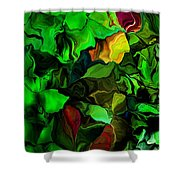 Floral Expression 080616 Shower Curtain
