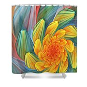 Floral Expressions 1 Shower Curtain