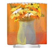 Floral Fantasia Shower Curtain