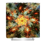 Floral Fantasy 072010 Shower Curtain