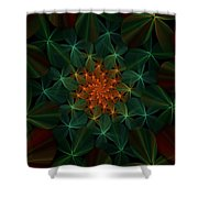 Floral Fantasy 073110 Shower Curtain