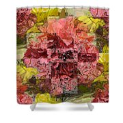 Floral Flux Shower Curtain