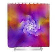 Floral Fractal 052210 Shower Curtain