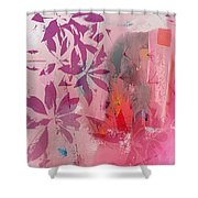 Floral Illusion Shower Curtain