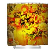 Floral In Ambiance Shower Curtain