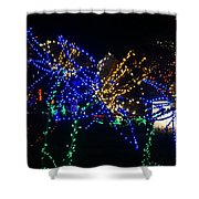 Floral Lights Shower Curtain