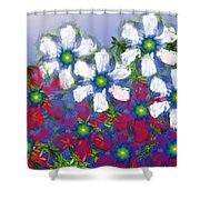 Floral Madness 2 Shower Curtain
