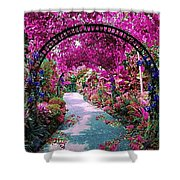 Floral Pathway Shower Curtain
