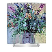 Floral  Piece Shower Curtain