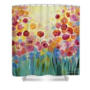 Floral Splendor II Shower Curtain