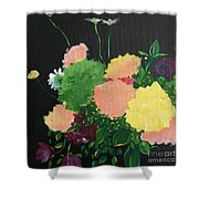 Floral Still Life Shower Curtain