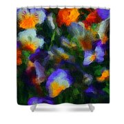 Floral Study 053010a Shower Curtain
