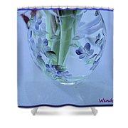 Floral Vase Shower Curtain