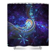 Floral Way Shower Curtain