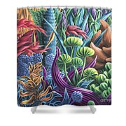 Floral Whirl Shower Curtain