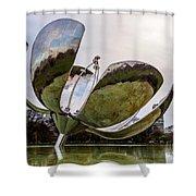 Floralis Generica, Buenos Aires, Argentina Shower Curtain