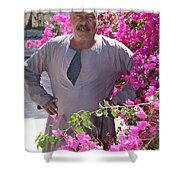 Floraman Shower Curtain