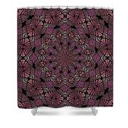 Florametric Mandala-12 Shower Curtain