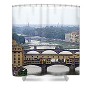 Florence 3 Shower Curtain