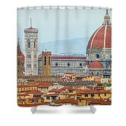 Florence And The Roofs Shower Curtain
