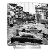 Florence: Flood, 1966 Shower Curtain