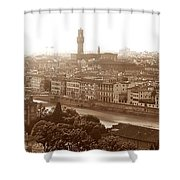 Florence Italy Wide Shower Curtain