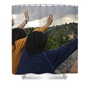 Florence, Tuscany, Italy, Small Group Shower Curtain