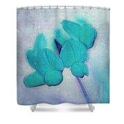 Florentina - At3v3b Shower Curtain