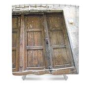 Florentine Door 4 Shower Curtain