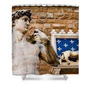 Florentine Icons Shower Curtain