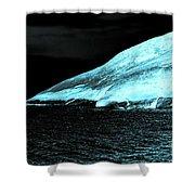 Fluorescent Rock Shower Curtain