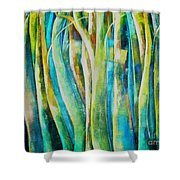 Floresta Verde  Shower Curtain