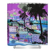 Florida 2 Shower Curtain