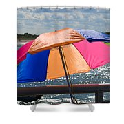 Florida Afternoon Shower Curtain