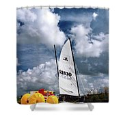 Florida Beach 3 Shower Curtain