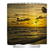 Florida Beach Shower Curtain