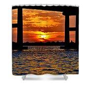 Florida Before Sunset  Shower Curtain