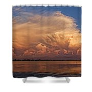 Florida Cloudscape Shower Curtain