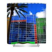 Florida Colors Shower Curtain