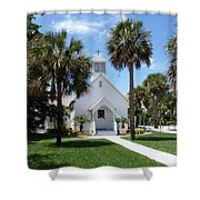 Florida Community Chapel Shower Curtain