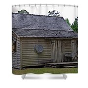 Florida Cracker Cabin Circa 1900 Shower Curtain